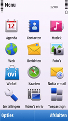Nokia C6-00 - MMS - handmatig instellen - Stap 4