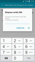 Samsung Galaxy S6 - Segurança - Como ativar o código PIN do cartão de telemóvel -  8