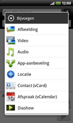 HTC A7272 Desire Z - MMS - hoe te versturen - Stap 8