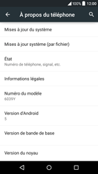 Alcatel Idol 3 (4.7) - Appareil - Mise à jour logicielle - Étape 6