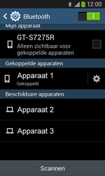 Samsung S7275 Galaxy Ace 3 - Bluetooth - koppelen met ander apparaat - Stap 10