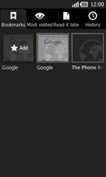 LG P940 PRADA phone by LG - Internet - Internet browsing - Step 9