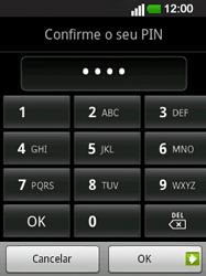 LG E400 - Segurança - Como ativar o código de bloqueio do ecrã -  10