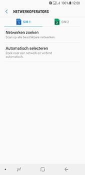 Samsung Galaxy A8 (2018) (SM-A530F) - Netwerk selecteren - Handmatig een netwerk selecteren - Stap 9