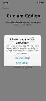 Apple iPhone XR - Primeiros passos - Como ativar seu aparelho - Etapa 13