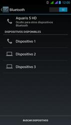 BQ Aquaris 5 HD - Bluetooth - Conectar dispositivos a través de Bluetooth - Paso 6