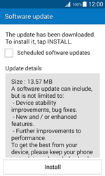 Samsung G388F Galaxy Xcover 3 - Device - Software update - Step 8