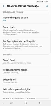 Samsung Galaxy S9 Plus - Segurança - Como ativar o código de bloqueio do ecrã -  12
