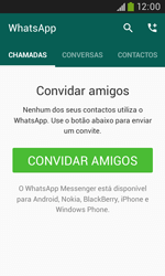 Samsung Galaxy Grand Neo - Aplicações - Como configurar o WhatsApp -  12