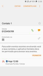 Samsung Galaxy J2 Prime - Chamadas - Como bloquear chamadas de um número específico - Etapa 6