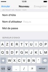 Apple iPhone 4S (iOS 8) - E-mails - Ajouter ou modifier un compte e-mail - Étape 12