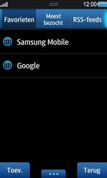Samsung S8530 Wave II - Internet - internetten - Stap 8