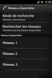 Sony ST23i Xperia Miro - Réseau - utilisation à l'étranger - Étape 11