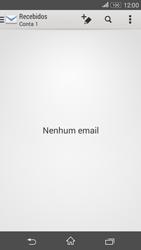 Sony Xperia E4G - Email - Como configurar seu celular para receber e enviar e-mails - Etapa 3
