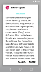 LG X Screen - Network - Installing software updates - Step 8