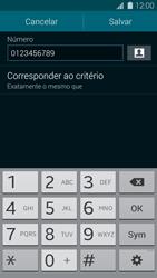Samsung G900F Galaxy S5 - Chamadas - Como bloquear chamadas de um número específico - Etapa 13