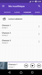 Sony Xperia XA1 - Photos, vidéos, musique - Ecouter de la musique - Étape 7
