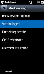 Samsung B7610 Omnia Qwerty - Internet - Handmatig instellen WM 6.5 - Stap 5
