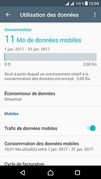 Sony Xperia L1 - Internet et connexion - Désactiver la connexion Internet - Étape 5