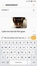 Samsung Galaxy S7 - Android Nougat - MMS - afbeeldingen verzenden - Stap 17