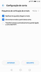 Huawei P10 Lite - Email - Adicionar conta de email -  8