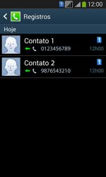Samsung SM-G3502T Galaxy Core Plus Duo TV - Chamadas - Como bloquear chamadas de um número específico - Etapa 11