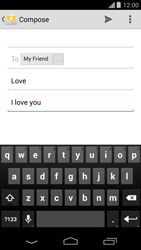 Motorola Moto G - Email - Sending an email message - Step 9