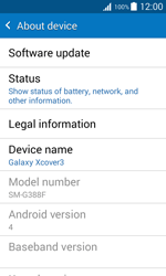 Samsung G388F Galaxy Xcover 3 - Device - Software update - Step 6
