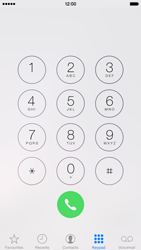 Apple iPhone 6 iOS 8 - Voicemail - Manual configuration - Step 3
