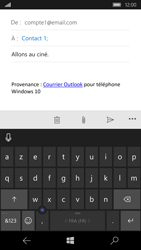 Microsoft Lumia 950 - E-mails - Envoyer un e-mail - Étape 8