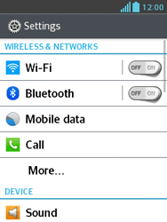 LG E430 Optimus L3 II - Bluetooth - Pair with another device - Step 4