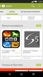 HTC One (M8) - Applications - Télécharger une application - Étape 5