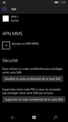 Microsoft Lumia 650 - Sécuriser votre mobile - Personnaliser le code PIN de votre carte SIM - Étape 7