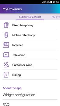 HTC Desire 825 - Applications - MyProximus - Step 22