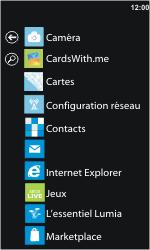 Nokia Lumia 610 - E-mail - envoyer un e-mail - Étape 2