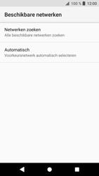 Sony xperia-xa1-g3121-android-oreo - Netwerk selecteren - Handmatig een netwerk selecteren - Stap 8