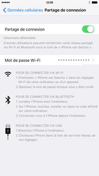 Apple iPhone 6s Plus - Internet et connexion - Partager votre connexion en Wi-Fi - Étape 9