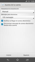 Sony Xperia E4g - E-mail - Configurar correo electrónico - Paso 17