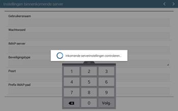 Samsung T535 Galaxy Tab 4 10-1 - E-mail - Account instellen (IMAP zonder SMTP-verificatie) - Stap 11