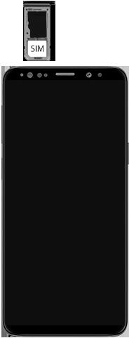 Samsung Galaxy S9 Android Pie - Appareil - comment insérer une carte SIM - Étape 5