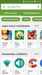 Samsung Galaxy J3 Duos - Aplicativos - Como baixar aplicativos - Etapa 4
