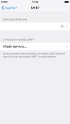 Apple iPhone 6 iOS 10 - E-mail - Configurar correo electrónico - Paso 21