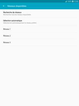Samsung T815 Galaxy Tab S2 9.7 - Réseau - Sélection manuelle du réseau - Étape 8