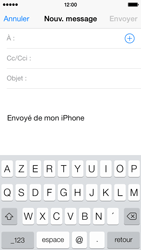 Apple iPhone 5c - E-mail - envoyer un e-mail - Étape 3