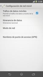 Sony Xperia Z1 - Internet - Configurar Internet - Paso 6