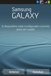 Samsung S6293T Galaxy Young Plus - Primeiros passos - Como ativar seu aparelho - Etapa 16