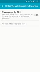 Samsung Galaxy J3 (2016) - Segurança - Como ativar o código PIN do cartão de telemóvel -  7