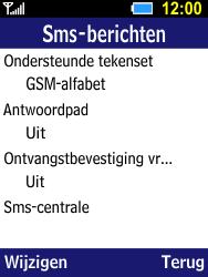 Samsung B550H Xcover 550 - SMS - Handmatig instellen - Stap 6