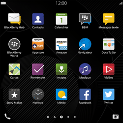 BlackBerry Passport - Internet - Configuration manuelle - Étape 12