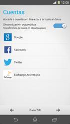Sony Xperia Z1 - Primeros pasos - Activar el equipo - Paso 8